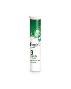 Family's Vitamins B Complex & Magnesium 20 eff tabs