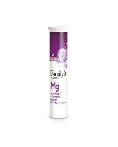 Family's Vitamins Magnesium & Vitamin B6 20 eff tabs