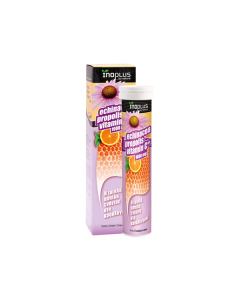 InoPlus Echinacea Vitamin C Propolis 20 + 4 eff tabs