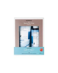 Korres Santorini Vine Collection Showergel 250 ml & Body milk 200 ml