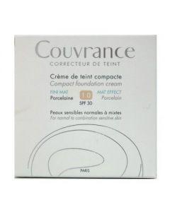Avene Couvrance de teint Compact Fini Mat SPF 30 1.0 Porcelaine 10 gr