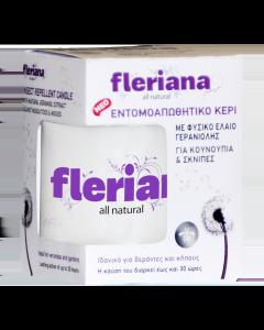 Fleriana Εντομοαπωθητικό κερί 130 gr