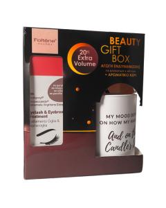 Foltene Eyelash Eyebrow treatment 8 ml & Δώρο αρωματικό κερί