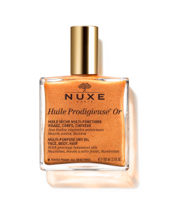 Nuxe Huile Prodigieuse Or Shimmering Multi Purpose Dry Oil Face Body Hair 100 ml