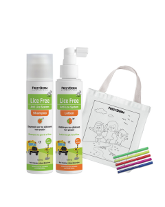 Frezyderm Lice Free Set (2 x 125) & Free Fabric Painting Bag