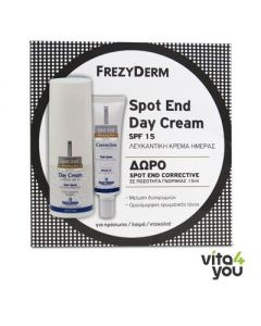 Frezyderm Spot End Day cream SPF15 50 ml & Spot End Corrective 15 ml