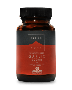 Terra Nova Garlic 500 mg 50 veg tabs
