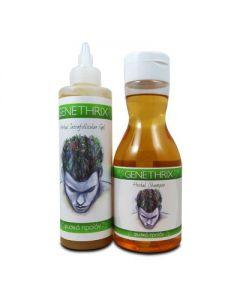 Genethrix Herbal Intrafollicular Gel 200 ml & Genethrix Herbal Shampoo 300 ml
