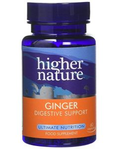 Higher Nature Ginger Digestive Support 60 caps