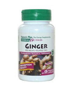 Nature's Plus Ginger 250 mg 60 veg.caps