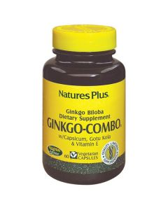 Nature's Plus Ginkgo-Combo 60 veg.caps