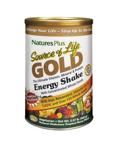 Nature's Plus Source of Life Gold Energy Shake tropical berry flavour 442 gr