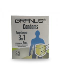 Granus Condoms 3 pcs