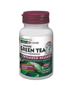 Nature's Plus Green Tea Chinese 750 mg Extended Release 30 tabs