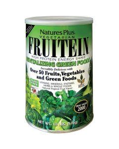Nature's Plus Fruitein Revitalizing Green Foods Shake 576 gr