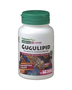 Nature's Plus Gugulipid 750 mg  60 veg.caps