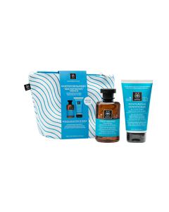 Apivita Beeauty Infusion Hair Care Moisturizing hyaluronic acid-aloe Shampoo 250 ml & Conditioner 150 ml