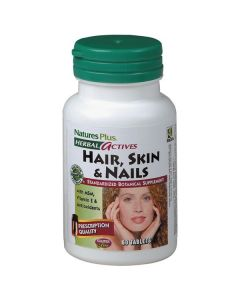 Nature's Plus Hair Skin & Nails 60 tabs