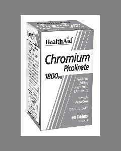 Health Aid Chromium Picolinate 200 mcg 60 tabs