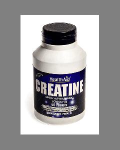 Health Aid Creatine Monohydrate 1000mg 60 tabs