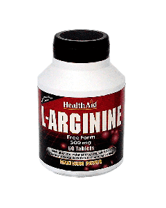 Health Aid L-Arginine 500 mg 60 tabs
