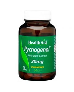 Health Aid Pycnogenol Extract 30 mg 30 tabs