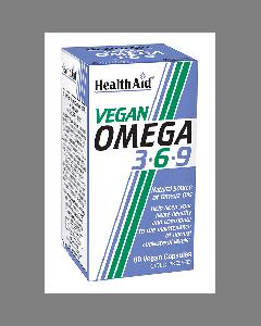 Health Aid Vegan Omega 3-6-9 60 vcaps