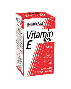 Health Aid Vitamin E 400 IU Natural 30 caps