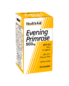 Health Aid Evening Primrose Oil 1000 mg & Vitamin E Vegicaps 30 caps