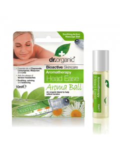 Dr. Organic Aromatherapy Head Ease Aroma Ball 10 ml