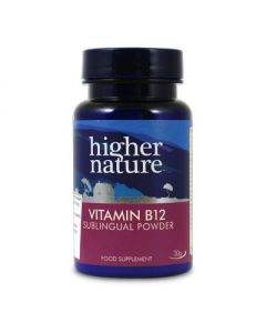 Higher Nature Vitamin B12 Sublingual Powder 30 gr