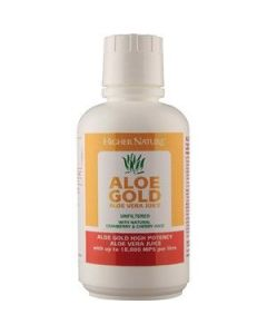 Higher Nature Aloe Gold Aloe Vera Juice with Cranberry & Cherry 485 ml