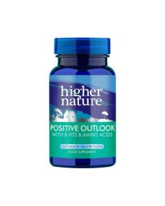 Higher Nature Positive Outlook with B Vits & Amino Acids 30 caps