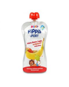 Hipp Hippis Sport Ροδάκινο Μπανάνα Σταφύλι Δημητριακά ολικής άλεσης 120 gr