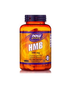 Now Sports HMB 500 mg 120 vcaps