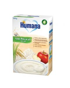 Humana Κρέμα Μήλο χωρίς γάλα 230 gr
