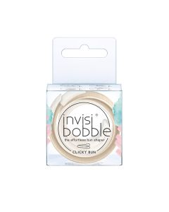 Invisibobble Clicky Bun To Be or Nude To Be Hair Shaper