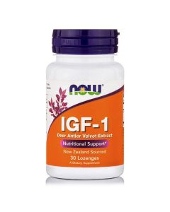 Now IGF-1 33 mg Deer Extract 30 lozenges