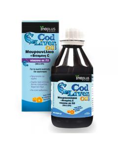 InoPlus Cod Liver oil orange flavour 150 ml