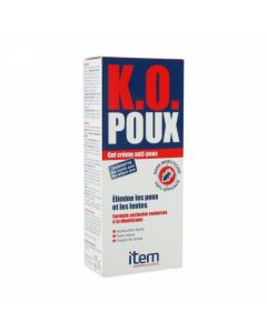 Item K.O Poux Gel Creme 100 ml