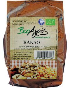 Βιο-Αγρός Κακάο σκόνη ημιαποβουτυρωμένο 200 gr