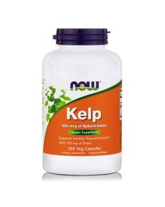Now Kelp 325 mcg Iodine/Dulse 250 vcaps