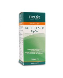 DioCare Koff-Less D syrup 200 ml