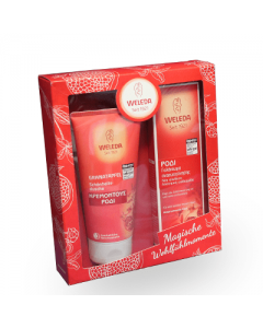 Weleda Gift Set Body Milk with Pomegranate 200 ml + Free Showergel with Pomegranate 200 ml