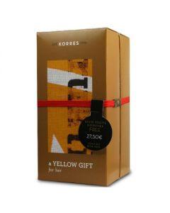 Korres White Τea Bergamot Freesia Yellow Gift Her Άρωμα 50 ml & Body milk 125 ml