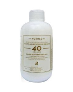 Korres Abyssinia Superior Gloss Colorant Γαλάκτωμα ενεργοποίησης χρώματος volume 40 150 ml