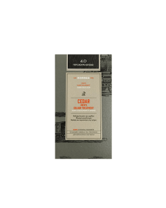 Korres Cedar Men's Colour Treatment 4.0 Natural Dark Grey