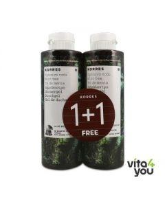 Korres Green Tea Showergel 250 ml 1+1 Free