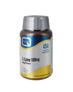 Quest L-Lysine 1000 mg 45 tabs
