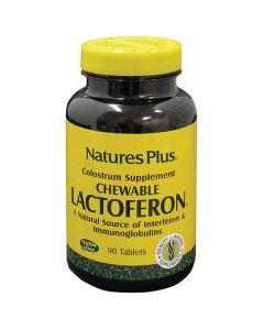 Nature's Plus Lactoferon Chewable Colostrum 90 tabs